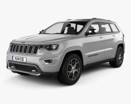 Jeep Grand Cherokee Overland 2018 3D model
