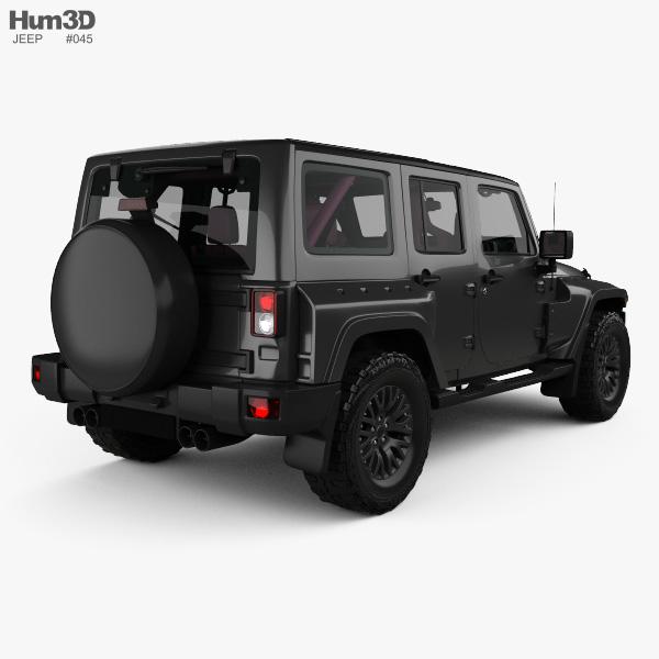 Jeep Wrangler Project Kahn Jc300 Chelsea Black Hawk 4 Door Rhd With Hq Interior 2016