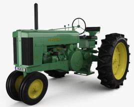 John Deere 70 1953 3D model