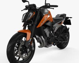 KTM 790 Duke 2018 3D model