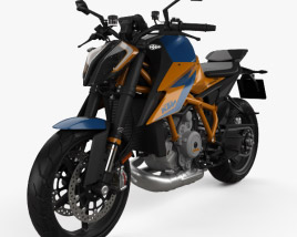 KTM 1290 Super Duke R 2020 3D model