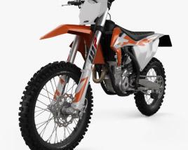 KTM 250 SX-F 2020 3D model