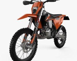 KTM 250 EXC TPI 2020 3D model