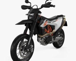 KTM 690 SMC R 2020 3D model