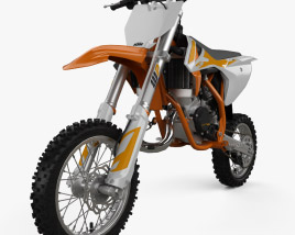 KTM 50 SX 2020 3D model