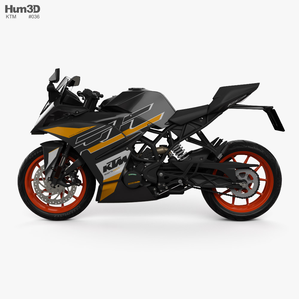KTM RC 125 2020 - Dave Barkshire Motorcycles