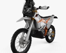 KTM 450 Rally 2021 3D model