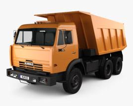 Kamaz 5511 Dump Truck 1977 3D model