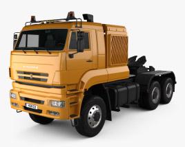 KamAZ 65226 Tractor Truck 2010 3D model