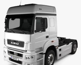 KamAZ 5490 T5 Tractor Truck 2015 3D model