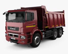 KamAZ 6580 K5 Dump Truck 2016 3D model