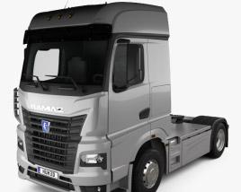 KamAZ 54901 Tractor Truck 2018 3D model