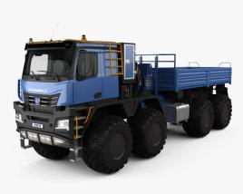 KamAZ 6355 Arctica Truck 2019 3D model
