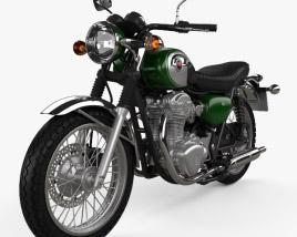 Kawasaki W800 2014 3D model