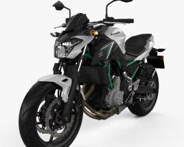 Kawasaki Z650 2017 3D model
