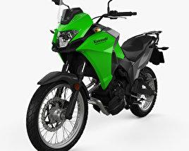 Kawasaki Versys-X 300 2017 3D model