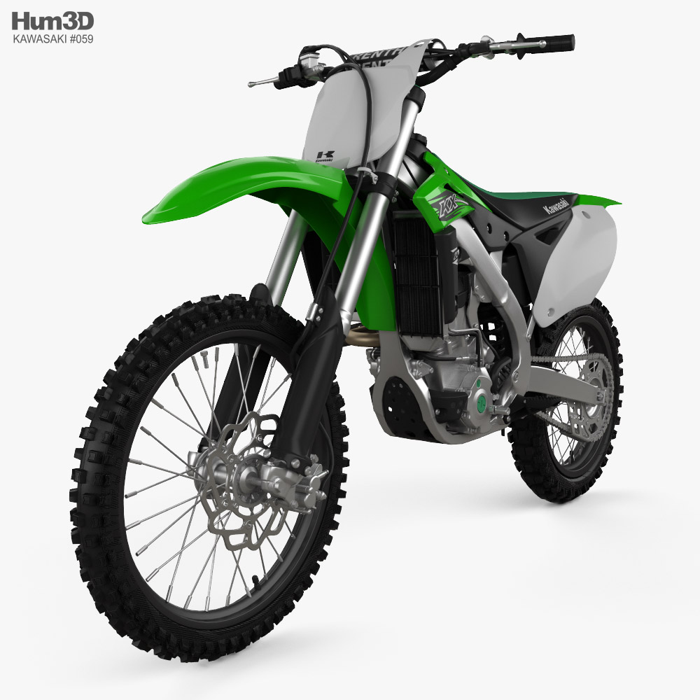 Kawasaki KX250F 2016 3d model