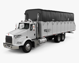 Kenworth T800 Cotton Truck 2011 3D model