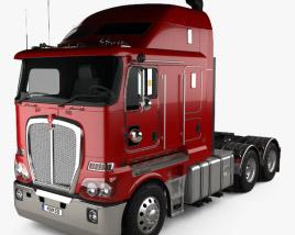 Kenworth K200 Tractor Truck 2010 3D model