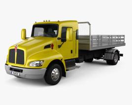 Kenworth T170 Flatbed Truck 2009 3D model