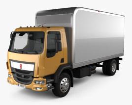 Kenworth K370 Box Truck 2014 3D model