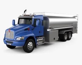 Kenworth T370 Tanker Truck 3-axle 2009 3D model