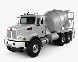 Kenworth T470 Mixer Truck 3-axle 2009 3D model
