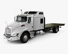 Kenworth T400 Flatbed Truck 2012 3D model