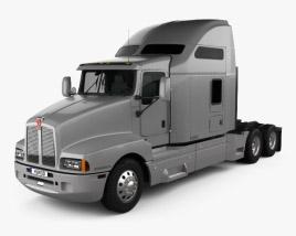 Kenworth T600 Tractor Truck 2007 3D model