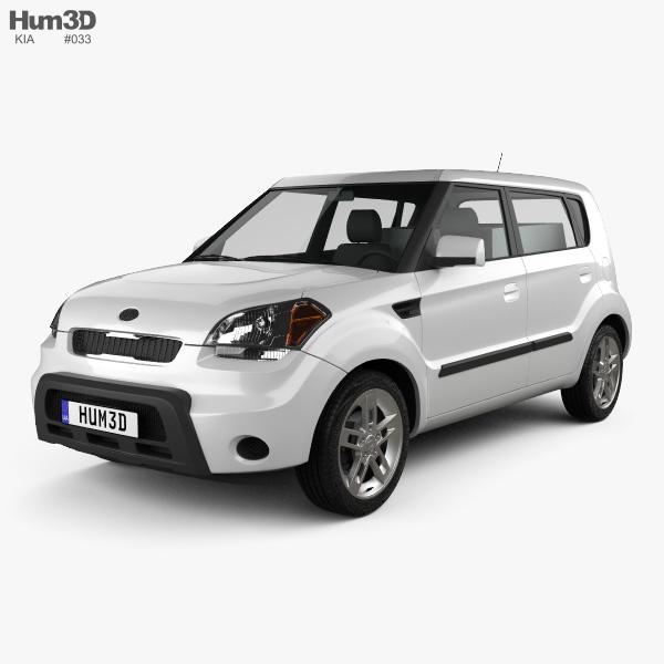Kia Van 2015: Kia Soul HotTot IV Van Oven 2011 3D Model