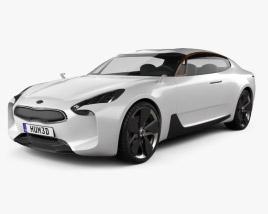 Kia GT 2011 3D model