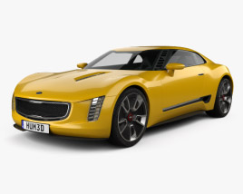 Kia GT4 Stinger 2014 3D model