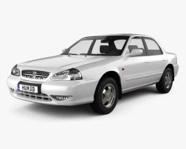 Kia Clarus 1998 3D model