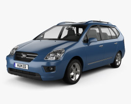 Kia Carens 2006 3D model