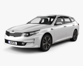 Kia Optima wagon 2017 3D model