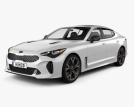Kia Stinger GT 2017 3D model