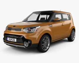 Kia Soul Turbo 2017 3D model