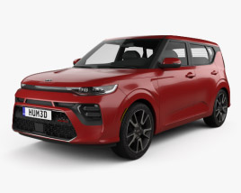 Kia Soul GT-Line Turbo 2019 3D model