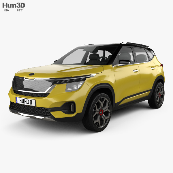 Kia SP Signature 2019 3D Model