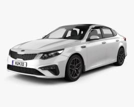 Kia Optima sedan 2018 3D model