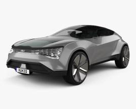 Kia Futuron 2019 3D model