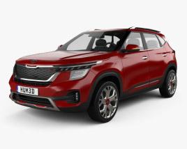 Kia Seltos GT-Line 2019 3D model