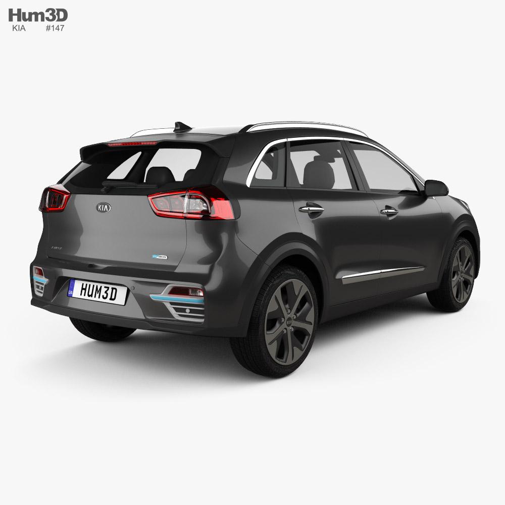 Kia Niro e 2019 3d model