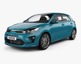 Kia Rio hatchback 2020 3D model