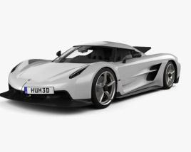 Koenigsegg Jesko Absolut 2020 3D model