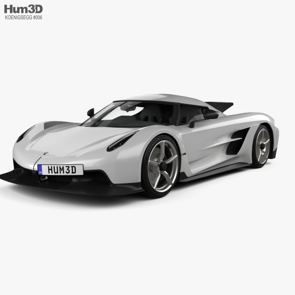Koenigsegg Jesko: Koenigsegg Jesko Absolut 2020 3D Model