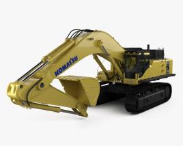 Komatsu PC850 Excavator 2015 3D model