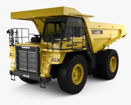 Komatsu HD605 Dump Truck 1998 3D model
