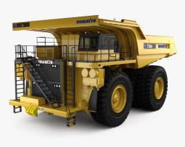 Komatsu 730E Dump Truck 2012 3D model