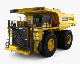 Komatsu 830E Dump Truck 2019 3D model